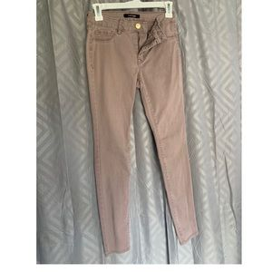 Stretchy Light Peach Shaded Jeans